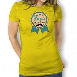 Camiseta Papá Increible para mujer