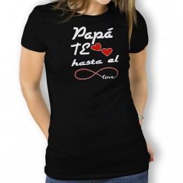 Camiseta Papá te Quiero para mujer