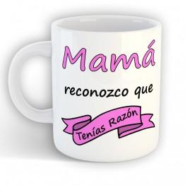 taza Mamá tenias Razón