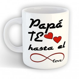 Taza Papá Te Quiero