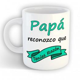 Taza Papá Tenias Razón
