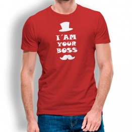 camiseta I am Your Boss para hombre