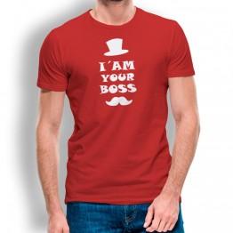 camiseta I am Your Boss para hombre