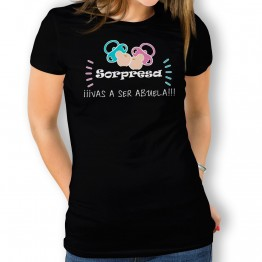 Camiseta Vas a Ser Abuela mujer