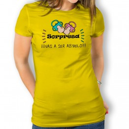 Camiseta Vas a Ser Abuelo mujer