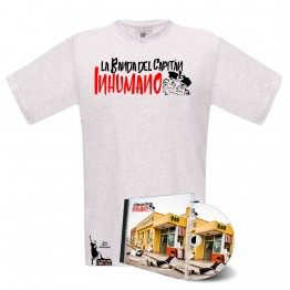 Pack camiseta Blanca y cd Pasan Factura