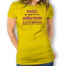 Camiseta Solterona a Señorona