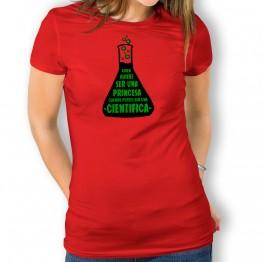 Camiseta Princesa o Científica