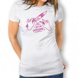 Camiseta Outsider mujer