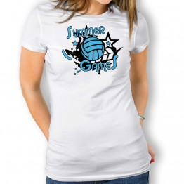 Camiseta Summer Games para mujer