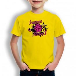 Camiseta Summer Games para niños