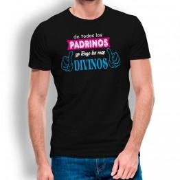 Camiseta Padrinos Divinos para hombre