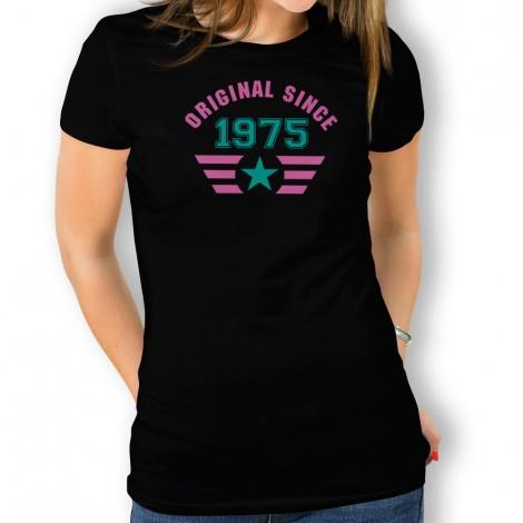 Since Mujer Original Para Camiseta Camiseta b6Yf7yg