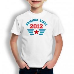 Camiseta Original Since para niños