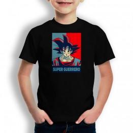 Camiseta Super Guerrero Vintage para niños