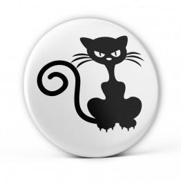 Chapa Gato Enfadado