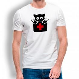 Camiseta Gato Doctor