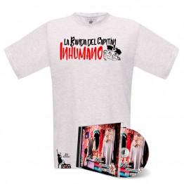 Pack Camiseta Blanca Saqueando Camerinos