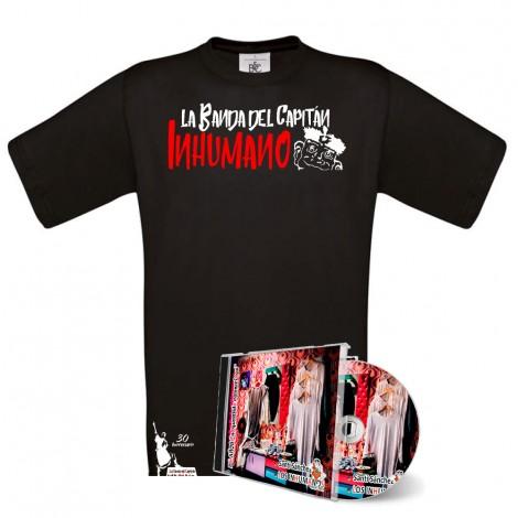 Pack Camiseta Negra Saqueando Camerinos