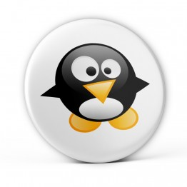 Chapa Pingüino Bebé