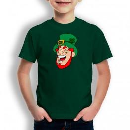 Camiseta St Patrick Cara para niños