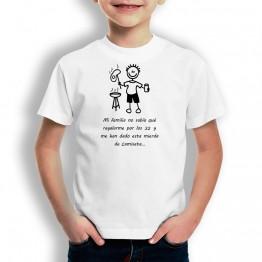Camiseta Regalo de Cumpleaños para niños