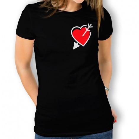 Camiseta Corazón y Flecha para mujer