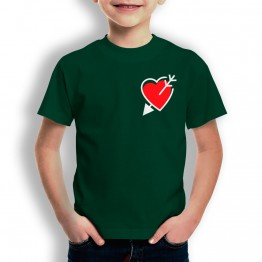 Camiseta Corazón y Flecha para niños