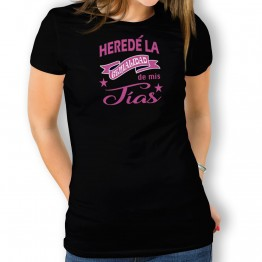Camiseta Heredé Genialidad para mujer