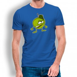 camiseta Manzana Enfadada para hombre