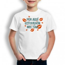 Camiseta Mis Tías PARA niños