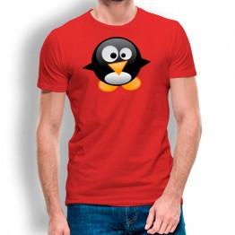 Camiseta Pingüino Bebé para hombre