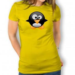 Camiseta Pingüino Bebé para mujer