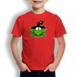 Camiseta Rana Druida para niños