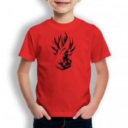 Camiseta Super Guerrero para niños