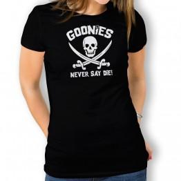 Camiseta Never Say Die para mujer