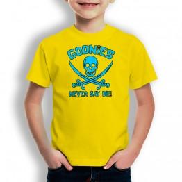 Camiseta Never Say Die para niños