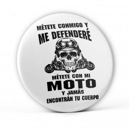 Chapa Defenderé Mi Moto