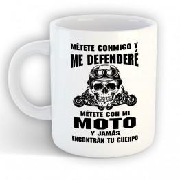 Taza Defenderé Mi Moto