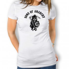 Camiseta Sons Of Anarchy para mujer