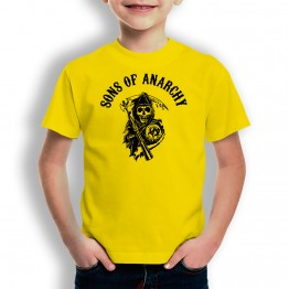 Camiseta Sons Of Anarchy para niños