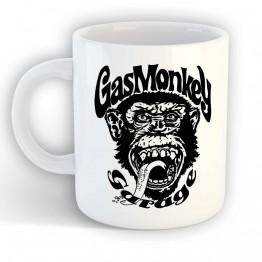 Taza Gas Monkey Mono