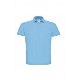 Azul Celeste Polo de Piqué