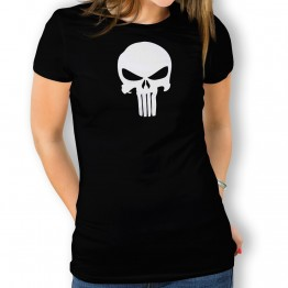Camiseta Calavera Alien para mujer