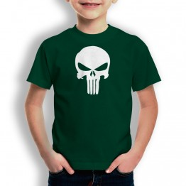 Camiseta Calavera Alien para niños