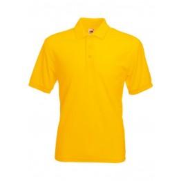 Polo 65/35 Hombre Amarillo Girasol