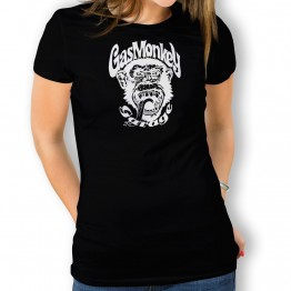 Camiseta Gas Monkey Mono para mujer