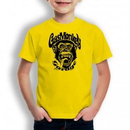 Camiseta Gas Monkey Mono para niños