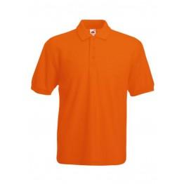 Polo 65/35 Hombre Naranja