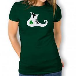 Camiseta St Patrick Bota para mujer